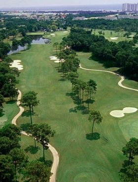 Golf course ratings for Indian Bayou Golf Club located in Destin, Florida.