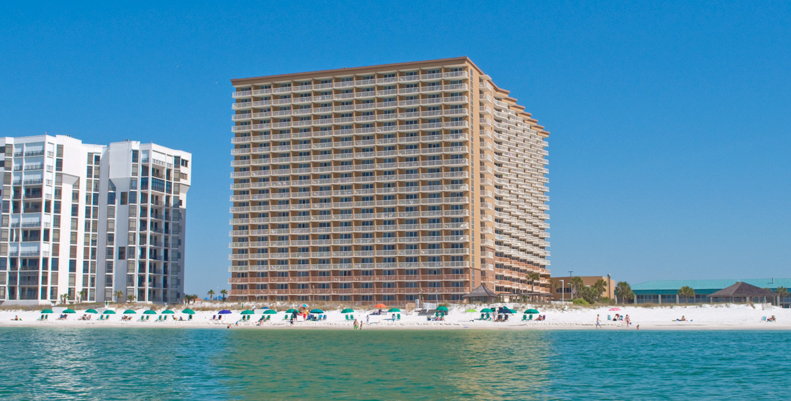 Destin fl beachfront condos pelican beach resort - 1 bedroom condos in destin fl on the beach ...